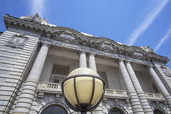 Bancroft Hall (jtgfoto) Tags: approved architecture facade building perspective wideangle sonyimages sonyalpha annapolis navalacademy bancrofthall maryland annearundelcounty