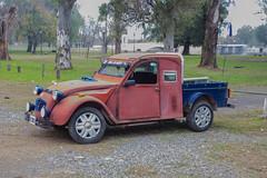 Citroen 2CV meets Pickup Truck - San Antonio de areco (BlueVoter - thanks for 1.7M views) Tags: sanantoniodeareco car auto coche carro