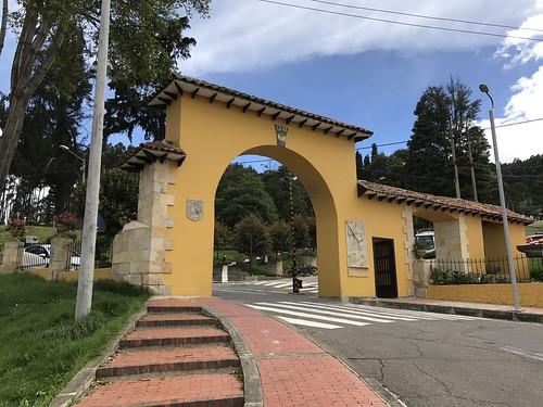 Parque de la Sal, Zipaquirá, Colômbia.
