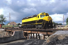 NYS&W 6370              8-87 (C E Turley) Tags: railway susquehanna nysw f45