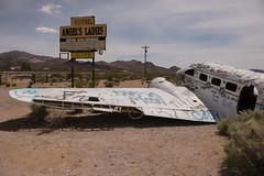 Beatty Nevada (robinshaw007) Tags: nevada nikon airplane crash d800 287028 desert brothel