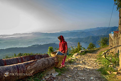 sarangkot- sunrise-39 p logo (anindya0909) Tags: nepal sarangkot sunise sunrise