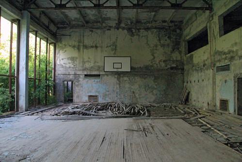 Indoor gym, Pripyat