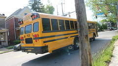 Monark Bus M330 (Etienne Luu) Tags: monark student transportation corporation blue bird all american t3 fe