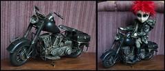 Img_8168 (GreenWorldMiniatures) Tags: taeyang barbie monsterhigh mh pullip 16 hobbylobby largemotorcycle motorcycle metal obitsu