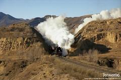 2013/12/28 QJ7119 Jingpeng (Pocahontas®) Tags: qj7119 film railway railroad rail train engine steam locomotive loco jitong kodak ektar100 135film