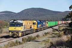 2017-04-14 Pacific National NR18-AN4-NR64 Towrang 6MW2 (deanoj305) Tags: towrang newsouthwales australia au 6mw2 nr18 an4 nr64 mainsouthlinensw pacific national main south line nsw