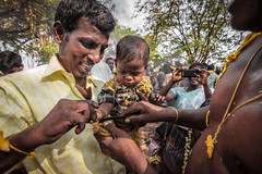Kid Taali Removal - Koovagam, India (Kartik Kumar S) Tags: canon 600d tokina 1116mm cwc koovagam festival tamilnadu india transgender tg aravaan villupuram koothandavar temple lgbt hijra third gender transvestite crossdresser androgyne feminism thaali mangalsutra chitra poornami fullmoon chennaiweekendclickers