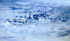 A break in the clouds (oobwoodman) Tags: aerial aerien luftaufnahme luftphoto luftbild arnord greenland kalaallitnunaat grønland groenland grönland snow schnee neige mountains berge glacier gletscher crevasse