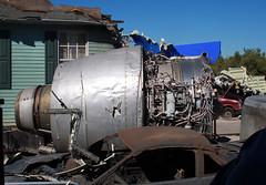 Rolls-Royce RB211 jet engine - Universal Studios, Los Angeles 2016 (anorakin) Tags: rollsroyce rb211 jetengine gasturbine universalstudios waroftheworlds losangeles 2016