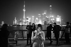 Shanghai the Bund (Stefano-Bosso) Tags: shanghai bund love stefano bosso noiretblanc mono street streetshooting people bw bnw blackandwhite canon china skylines blackandwhitephotos