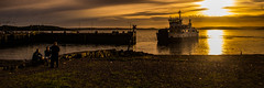 Debating Chamber (Brian Travelling) Tags: largs seafront hotel victorias secret sunset water pentaxkr pentax pentaxdal derelict