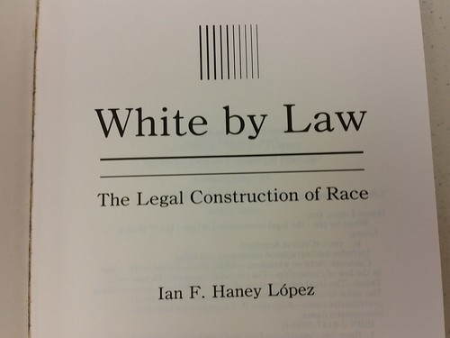 Hard to find books, White by Law.  On  Trump's bed table?