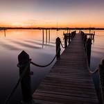 Key Largo at sunset time - Florida, United States - Travel photography thumbnail