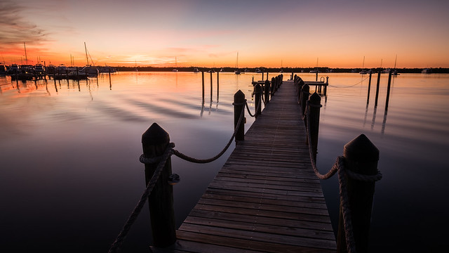 Key Largo at sunset time - Florida, United States - Travel photography
