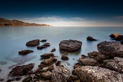 Playa de Nerja (jesbert) Tags: nerjaandaluciaspainespañaplayasummersunsetveranobeachndfiltercanon5dmarkii1740mmwideangle