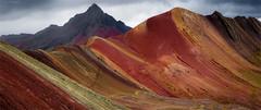 Summit. (J.M.Fransen (jero 053) on/off) Tags: ausangate peru rainbowmountain jero053 jeroenfransen colour geology altitude nature