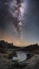 West coast colours in the night (Jaims Gibson) Tags: astrophotography astro jamesgibson newzealand night river westcoast taramakau