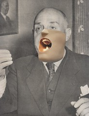 may 30th - mouthy (kurberry) Tags: losdiascontados collageaday collage vintageephemera