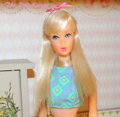 1967 Vintage Mod TNT Platinum Sunkissed barbie (The doll keeper) Tags: vintage mod tnt platinum sunkissed barbie doll