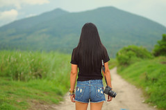 There are moments in my life I will always remember, not because they were important but because they made my heart smile. (joyful JOY) Tags: asian woman dreamer mountarayat pampanga pinay philippines moment girlwithacamera nikon nikond300 portrait picturingthewoman filipina