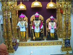 NarNarayan Dev Rajbhog Darshan on Wed 31 May 2017 (bhujmandir) Tags: narnarayan dev nar narayan hari krushna krishna lord maharaj swaminarayan bhagvan bhagwan bhuj mandir temple daily darshan swami rajbhog