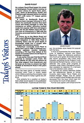 Norwich City vs Luton Town - 1991 - Page 16 (The Sky Strikers) Tags: norwich city luton town barclays league division one carrow road official matchday programme pound twenty