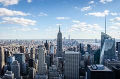 New York/Top of the Rock/Empire State Building (theilheimer) Tags: newyork topoftherock rockefellercenter empirestatebuilding manhattan usa state