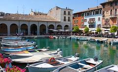 Old harbour, Desenzano del Garda. Lake Garda. (elsa11) Tags: desenzanodelgarda lakegarda lagodigarda gardameer gardasee italy italia italië lombardy lombardije oldharbour oldharbourdesenzanodelgarda portovecchio