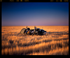 First Steppe (tsiklonaut) Tags: pentax 67 6x7 67ii film analog analogue analogica analoog 120 roll medium format fuji fujifilm provia 100f rdpiii color slide dia positive e6 kazakhstan kasahstan stepp steppe grassland sunset motorcycle travel discover outdoor camping motomatk telkimine bmw r1100gs gs adv adventure suzuki drz 400 moto aktau kazakh landscape sky sunrise päikeseloojang kõrb desert asia asian drum scan drumscan scanner pmt photomultipliertube horizon mangistau ngc