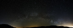 Pano del la Vía Láctea (Renato Di Prinzio Fotografía) Tags: sky europe stars españa dark panorama spain space panoramic exploration telescope astronomy cosmos europa milky way estrellas nocturna nebula starry galaxy oscuro segovia espacio constellation castilla y leon astronomia via lactea astrofoto nebulosas galaxias