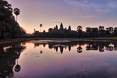 (espinozr) Tags: 2017 asia cambodia khmer southeastasia angkorwat sunrise sky temple siemreap pond reflection fav25 fav50