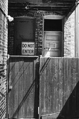 Do Not Enter. (CarusoPhoto) Tags: vsco plus 7 iphone carusophoto caruso john