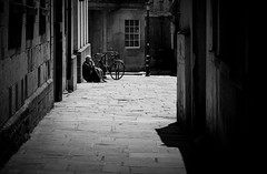One man and his bike (phil anker) Tags: street people bath photingo sigma85mm