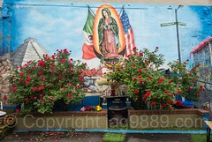 La Virgen de Guadalupe Mural (2009) by Tats Cru, Foxhurst, Bronx, New York City (jag9889) Tags: 2017 20170605 allamericacity bg183 bio bronx foxhurst graffiti graffitiartist guadalupe how mural muralist nosm ny nyc newyork newyorkcity nicer outdoor painting saint tagging tatscru thebronx themuralkings usa unitedstates unitedstatesofamerica virgin wall jag9889 mexico us