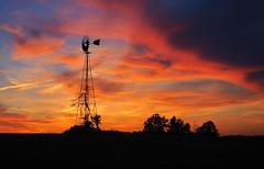 The Very Tall Windmill on Goodemoot Road (nelhiebelv) Tags: windmill tall