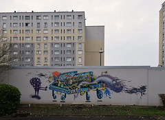 Fête de la musique (HBA_JIJO) Tags: urban graffiti vitry vitrysurseine art france artist hbajijo wall mur painting peinture music murale paris94 monster spray urbain musique monstre grem1 piano