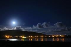 墾丁國家公園鵝鑾鼻海岸的月色(Moon rise at Kenting national park Erlanubi sea coast)。 (Charlie 李) Tags: 台灣 恆春鎮 屏東縣 墾丁 erlaunbi 2470 canon 5d3 taiwan pingtung kenting moon seacoast night