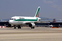 EI-IMG  A319-112 Alitalia (Antonio Doblado) Tags: barcelona elprat eiimg a319 airbus 319 alitalia