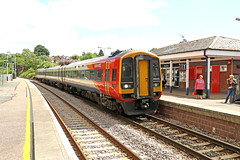 159005 Class 159 Sprinter DMU (Roger Wasley) Tags: 159005 class 159 sprinter dmu swt honiton london waterloo exeter stdavids station south west trains railways gb uk britain british devon