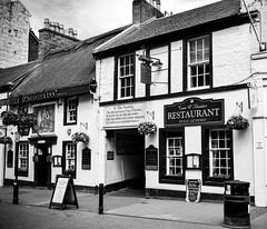 Tam O'Shanter Inn (Harry McGregor) Tags: tamoshanterinn ayr scotland ayrshire monochrome bw robertburns poetry 1749 restaurant pub historic harrymcgregor nikon d3300 4 june 2017