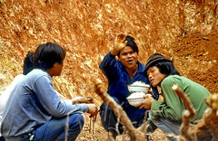 Their daily bowl of rice for lunch (gerard eder) Tags: world travel reise viajes asia eastasia china guangdong people peopleoftheworld street streetlife roadworkers outdoor
