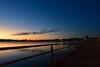 Hand Rail (Yohsuke_NIKON_Japan) Tags: lakeshinji shimane matsue lake lakeside handrail walk water waterfront sanin sunset dusk 島根 山陰 松江 宍道湖 夕日 evening d750 1635mm wide nikon
