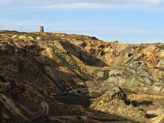 2296 Parys Mountain open cast copper mine (Andy - Busyyyyyyyyy) Tags: coppermine mmm mynyddparys ooo opencastmine parysmountain ppp shootaboot