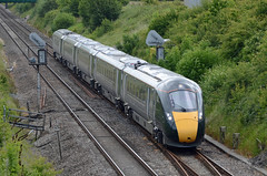 GWR IEP 800004, Chipping Sodbury (sgp_rail) Tags: gwr hitachi class 800 004 isambard kingdom brunel 800004 green new iep intercity express project test testing june 2017 chipping sodbury south glos gloucestershire