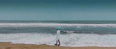 Aqua.. (nshrishikesh) Tags: marina beach marinabeach aqua cinematic crop film water india photography photographer photowalk minimalistic minimalism minimal