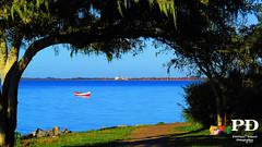 Barco (Pétruzz Ðias Fotografias) Tags: pelotas praia paisagem sol azul balneáriodosprazeres riograndedosul rgs rs