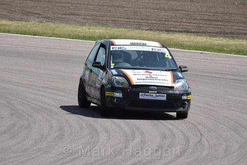 James Hillery in the Fiesta Junior championship at Rockingham, June 2017