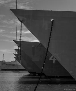 Five Decommissioned Frigates at the Philadelphia Navy Yard [Explored]©2017 Steven Karp