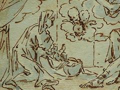 ITALIE 17e - La Sainte Famille (drawing, dessin, disegno-Louvre INV17360) - Detail 17 (L'art au présent) Tags: details détail détails detalles drawings dessins dessins17e 17thcenturydrawings italiandrawings italianpainters peintresitaliens anonymous italiananonymous anonymesitaliens religion catholic catholique bible figures personnes people man men hommes croquis étude study sketch sketches louvre museum paris france italie italia italy jesus jésus christ saint holy tree arbre holyfamily kid kids child children vierge virgin putti anges angelot angel angels rideau rideaux curtain curtains joseph saintjoseph